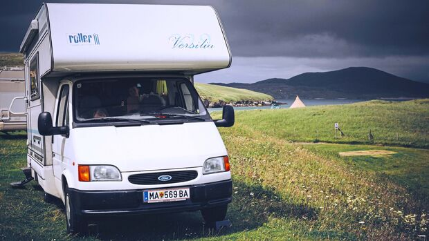 Campingurlaub Schottland