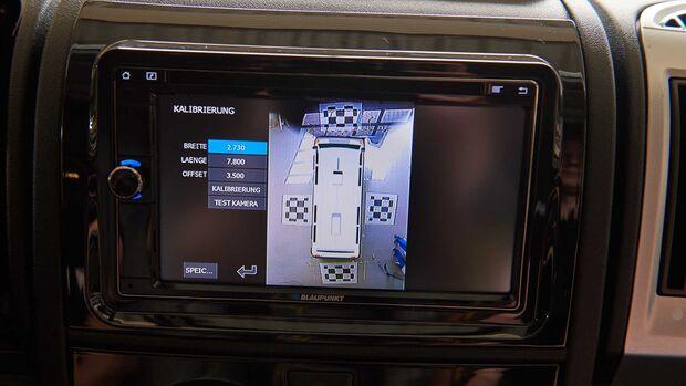 Carado T 448 Dauertest 360-Grad-Kamera Einbau