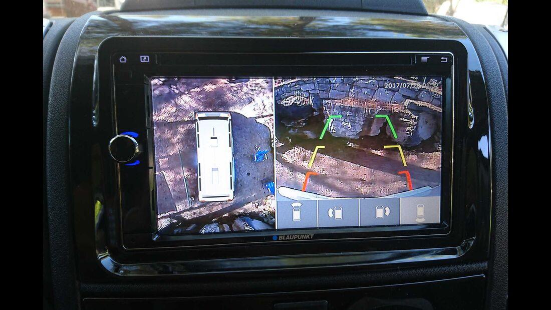 Carado T 488 Dauertest, Birdview, 360-Grad-Kamera