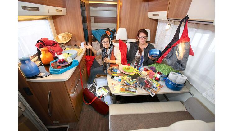 Ordnungssysteme im Wohnmobil: Praktisches Zubehör  Promobil