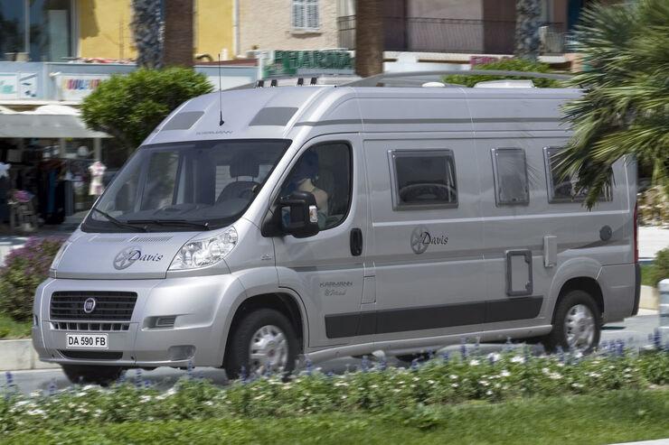 Caravan Salon 2008 Neuheiten Karmann Reisemobile Wohnmobile promobil