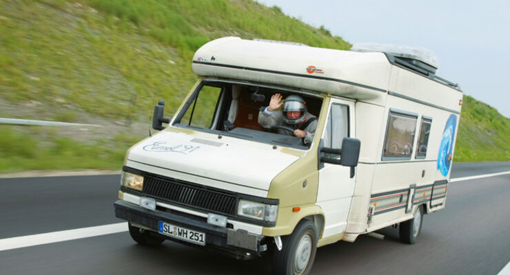 Caravan-Salon: Aktion Traummobil