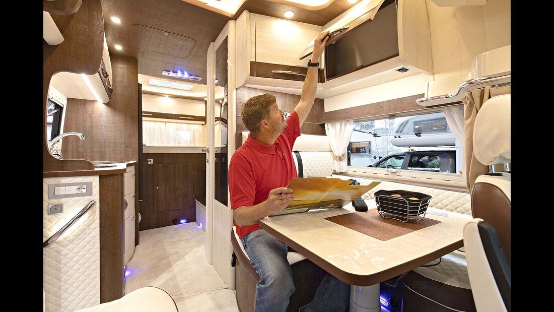 Caravan Salon Alkoven Wanner Silverdream