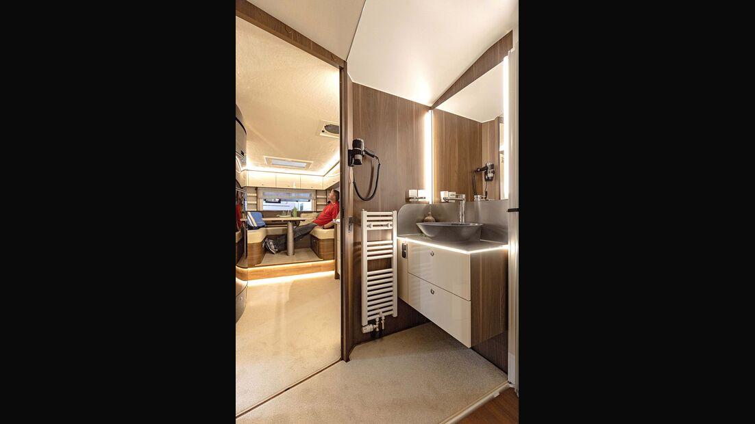 Caravan Salon Alkoven Wochner Mujaro II