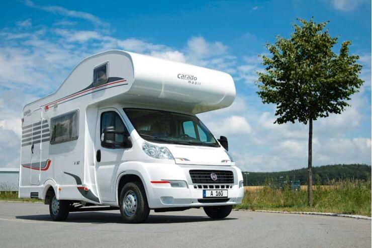 Caravan-Salon: Alkovenmobile