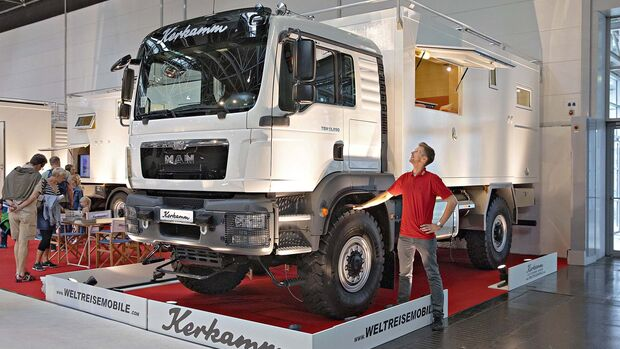 Caravan Salon Allradmobile Kerkamm