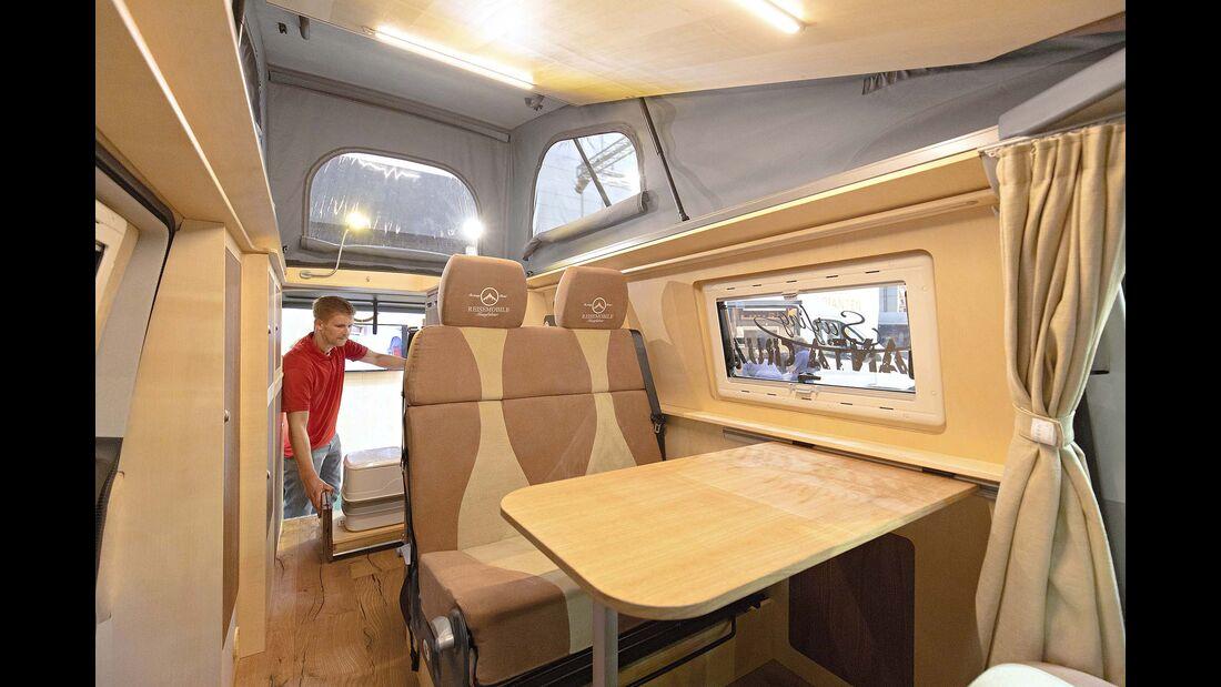 Caravan Salon Campervans RM Free Nature Eco