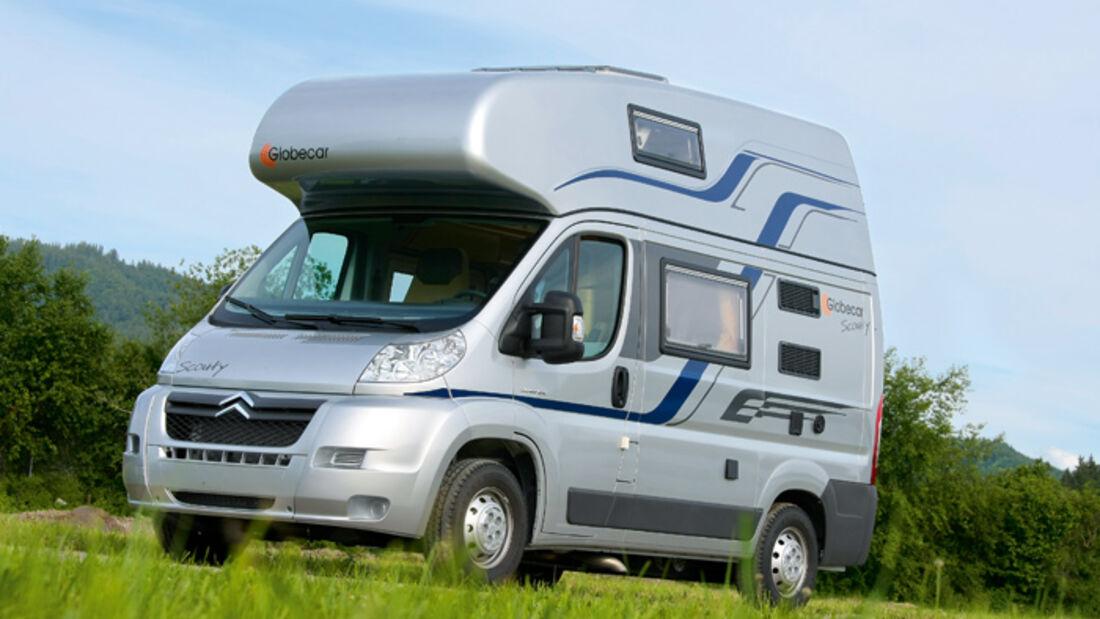 Caravan-Salon: Globecar