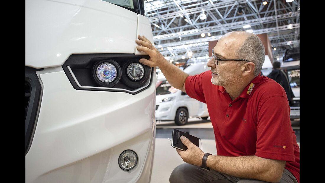 Caravan-Salon Integrierte Eura Mobil Integra Line