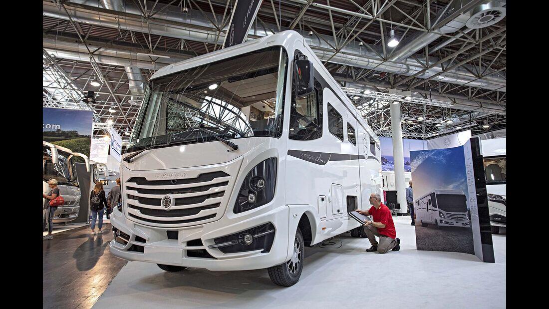 Caravan-Salon Integrierte Le Voyageur Liner