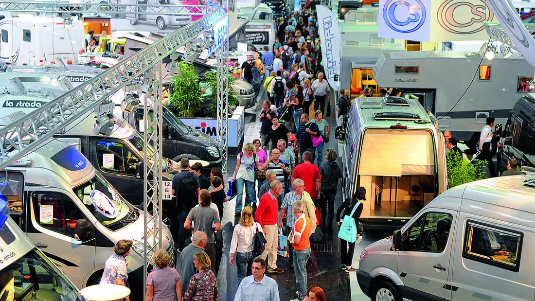 Caravan-Salon: Messe-Info, News