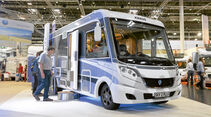 Caravan-Salon: Reisemobile 2014