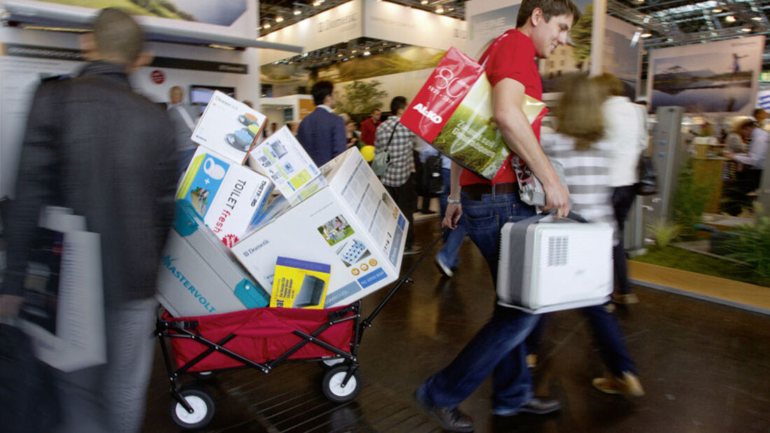 Caravan-Salon Zubehör Trends 2012, Ratgeber