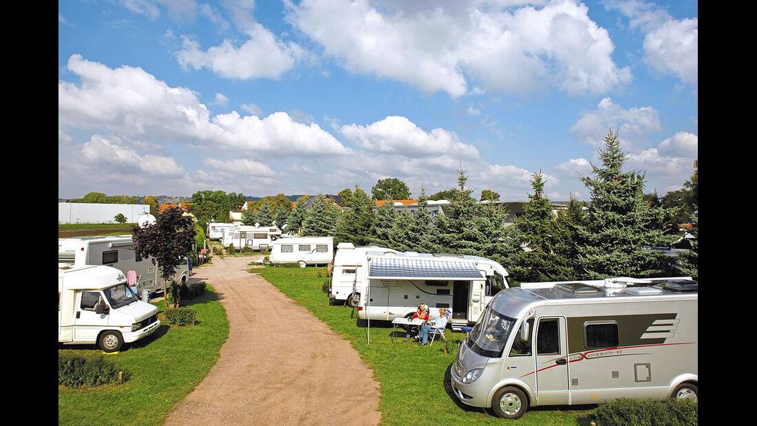 Caravaning-Park Schaffer-Mobil