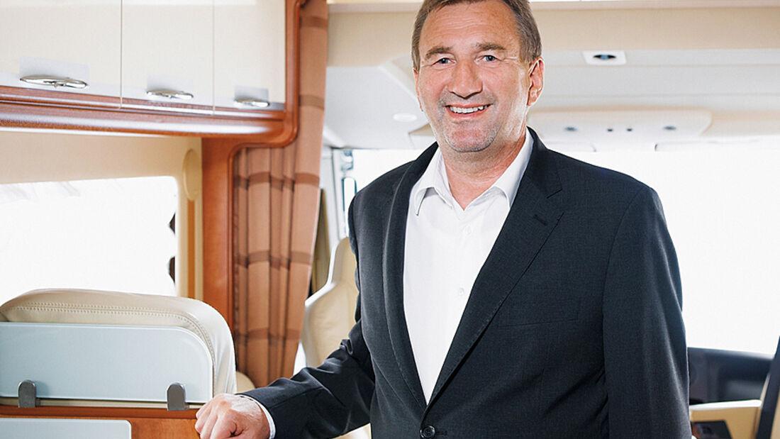 Carthago Reisemobilbau, Entrepreneur des Jahres 2011: Karl-Heinz Schuler im Finale