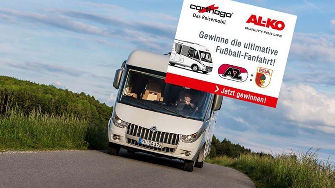 Carthago und Alko Fanmobil