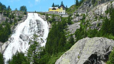 Cassata del Toce Wasserfall Piemont Italien
