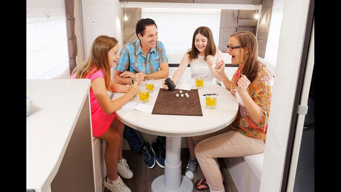 Challenger 291 Cruise Edition Sitzgruppe