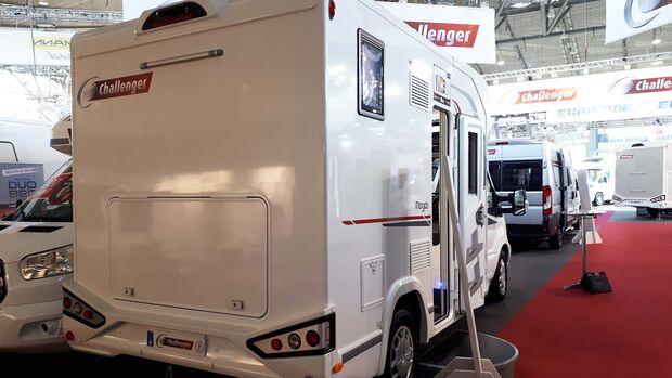 Challenger Mageo 170 hinten