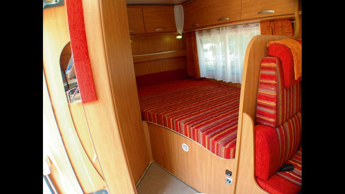 Chausson Flash Baureihe Modell 2010 Bett