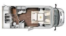 Chausson Welcome 620 Grundriss