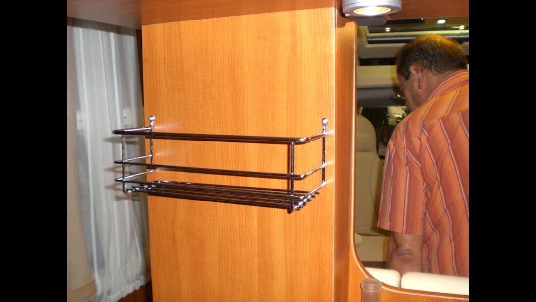 Chausson Welcome Sweet Wohnmobil mit Kochinsel Carava Salon 2009 Reisemobile