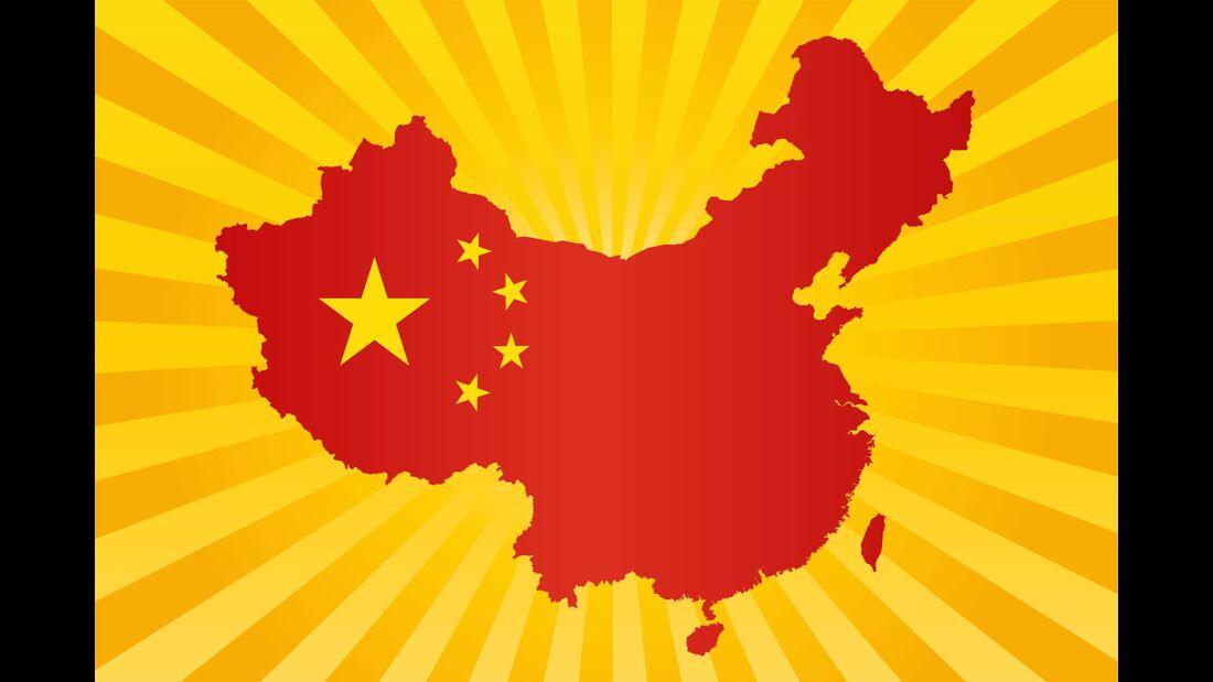 Chinakarte