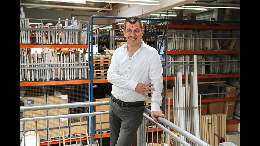 Christian Schweizer, Leiter der Ersatzteilableitung
