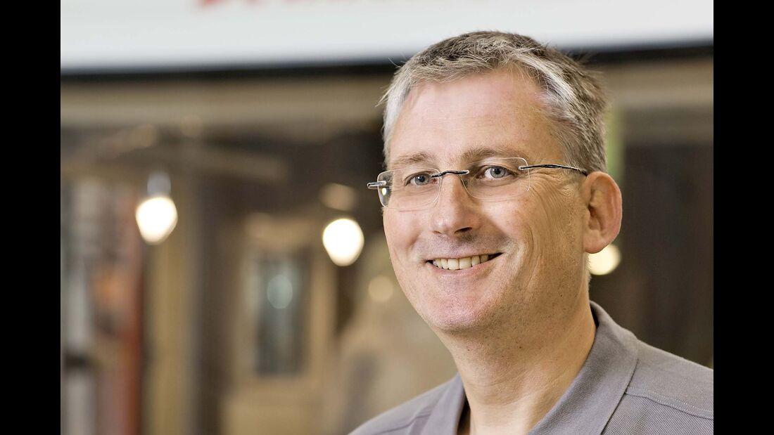 Christoph Gawalleck, technischer Leiter bei Dethleffs