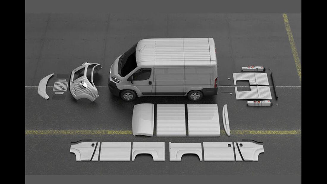 Citroen Typ 70th Anniversary Van