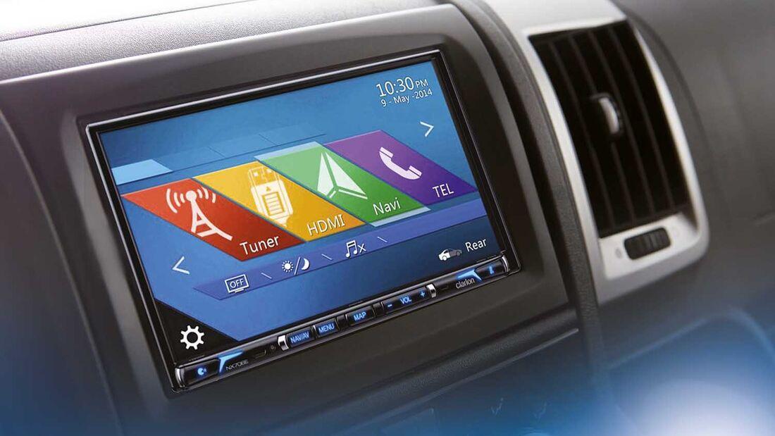 Clarion NX706EC Multimedia-System