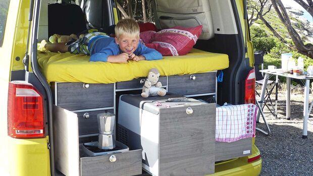 Clever Campen Bulli-Möbel