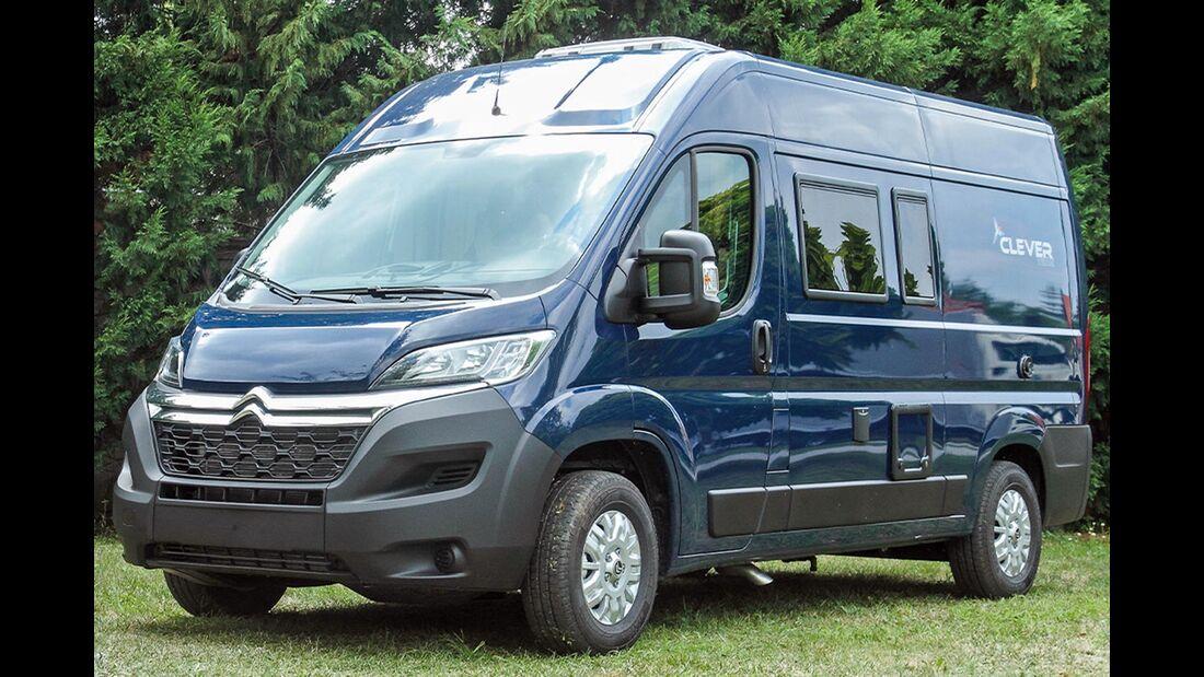 Clever Campingbusse Modelljahr 2020 Vandeo und Co.   Promobil