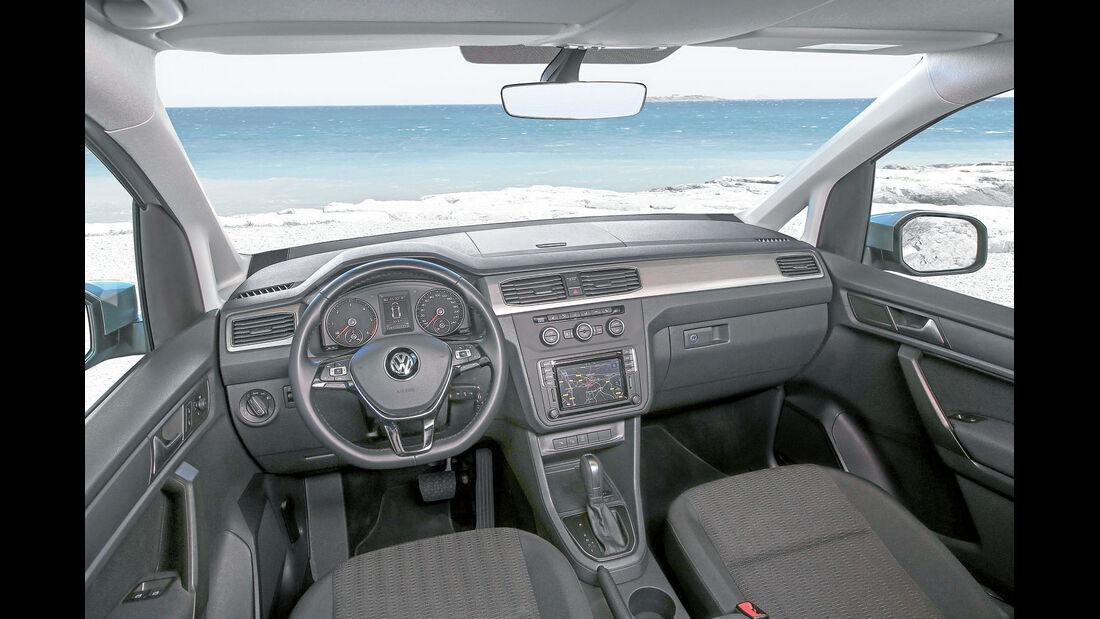 Cockpit beim VW Caddy