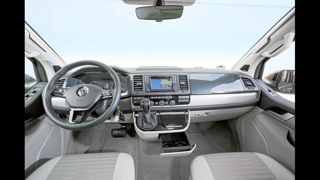 Cockpit beim VW California