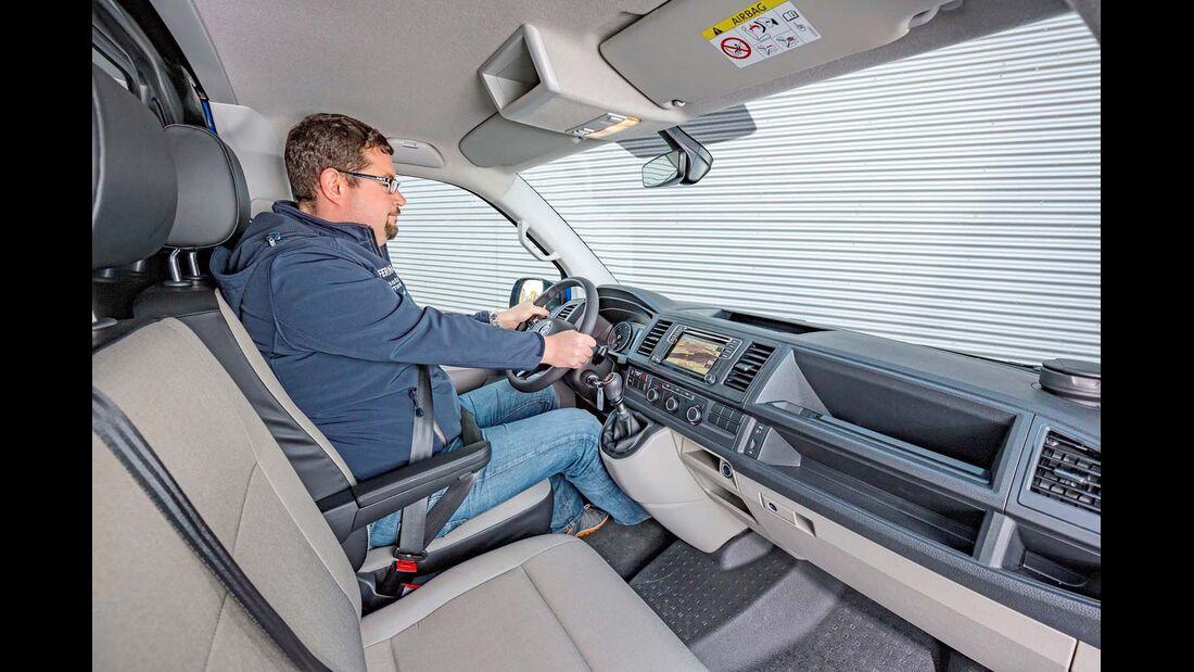 Cockpit beim VW T6