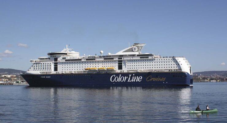 Color Magic von Color Line gewinnt europäischen Fährentest 2014