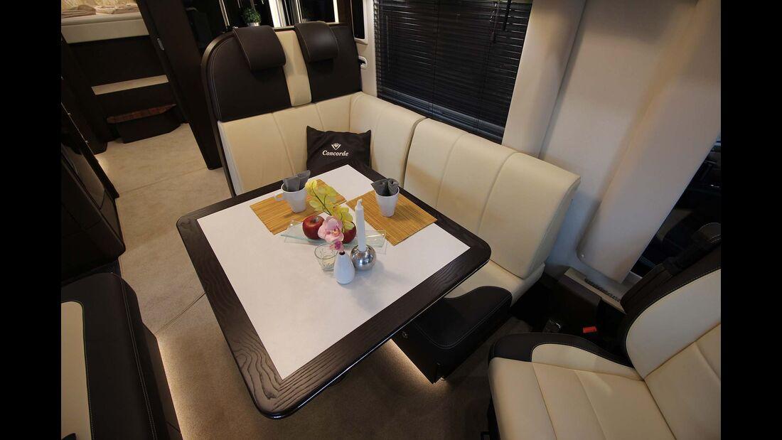 Concorde Charisma 920 G Sitzecke, Tisch