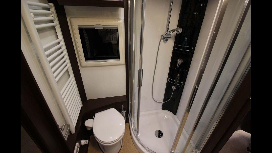 Concorde Charisma 920 G Toilette, Dusche