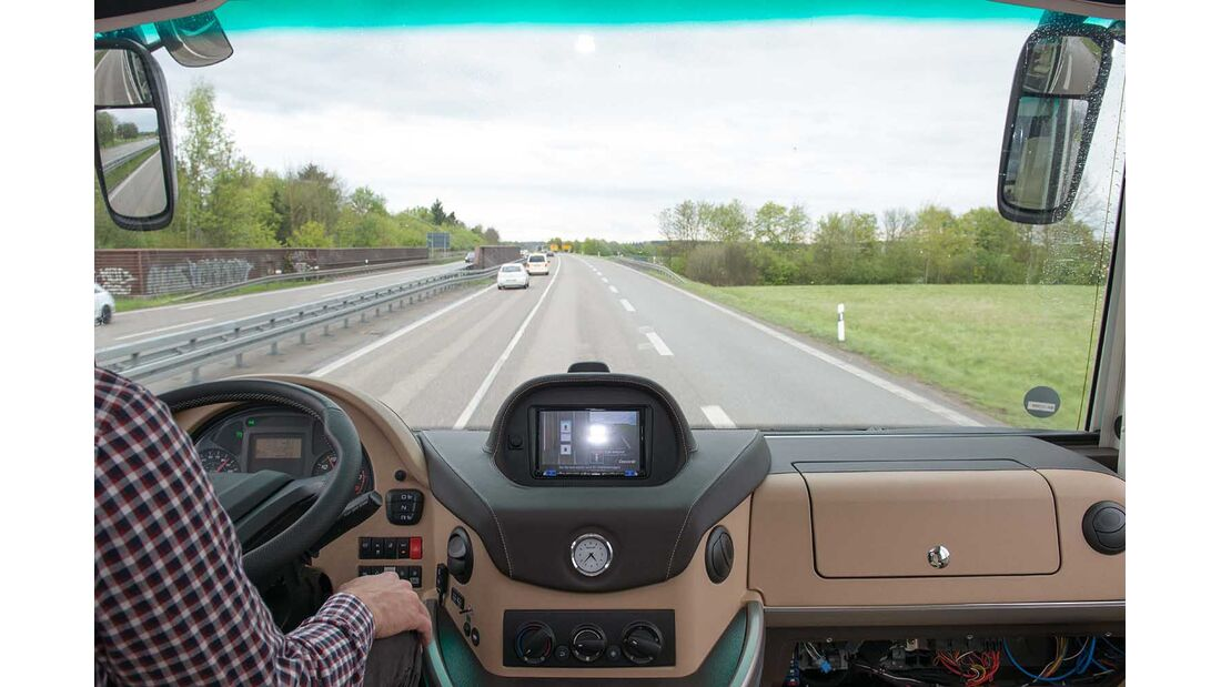 Concorde / Iveco Assistenzsysteme im Test (2018)