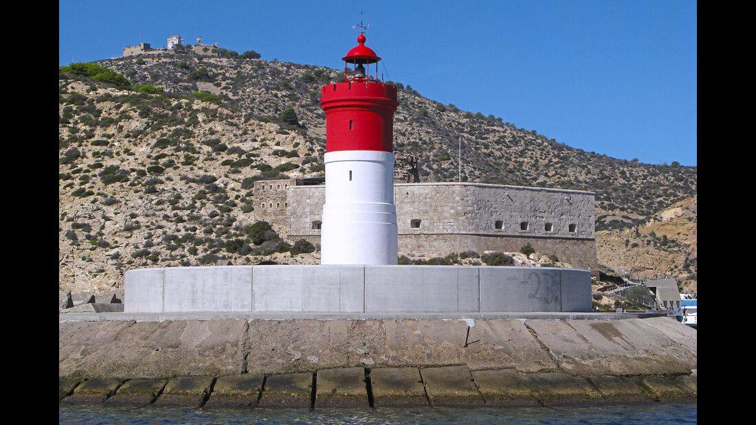 Costa Cálida Leuchtturm Cartagena