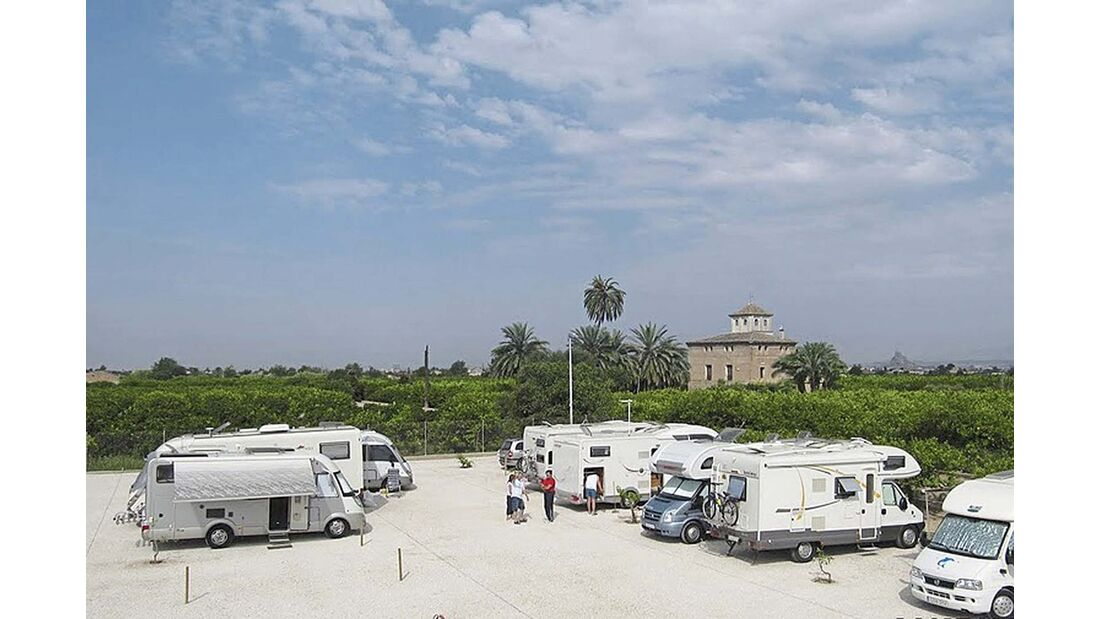 Costa Cálida Stellplatz