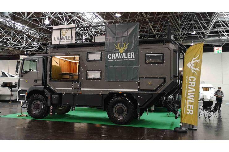Crawler TRC 735 (2021) auf MAN   Promobil