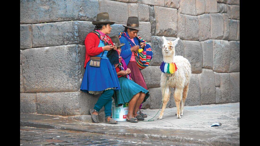 Cusco, Peru: Die Inkastadt gehört seit 1983 zu den Unesco-Welterbestätten.