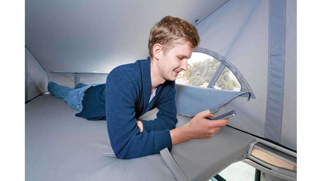 Dachbett beim VW California