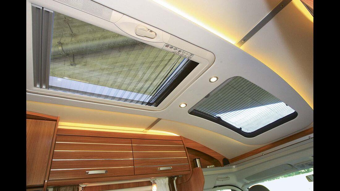 Dachfenster bringen Licht und Luft ins Reisemobil