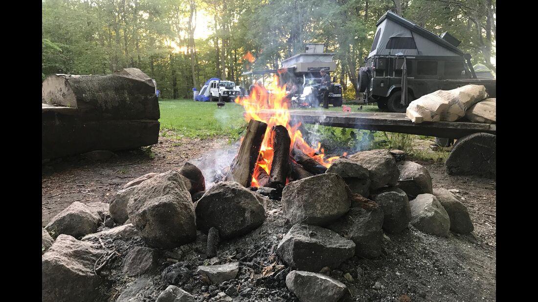 Dänemark: Camping Mons Klingt