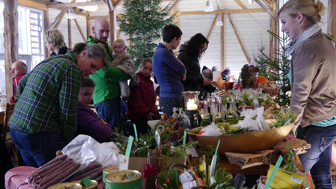 Das Hofgut Hopfenburg feierte Anfang Dezember einen großen Adventsmarkt und präsentierte eine positive Bilanz der Saison 2013.