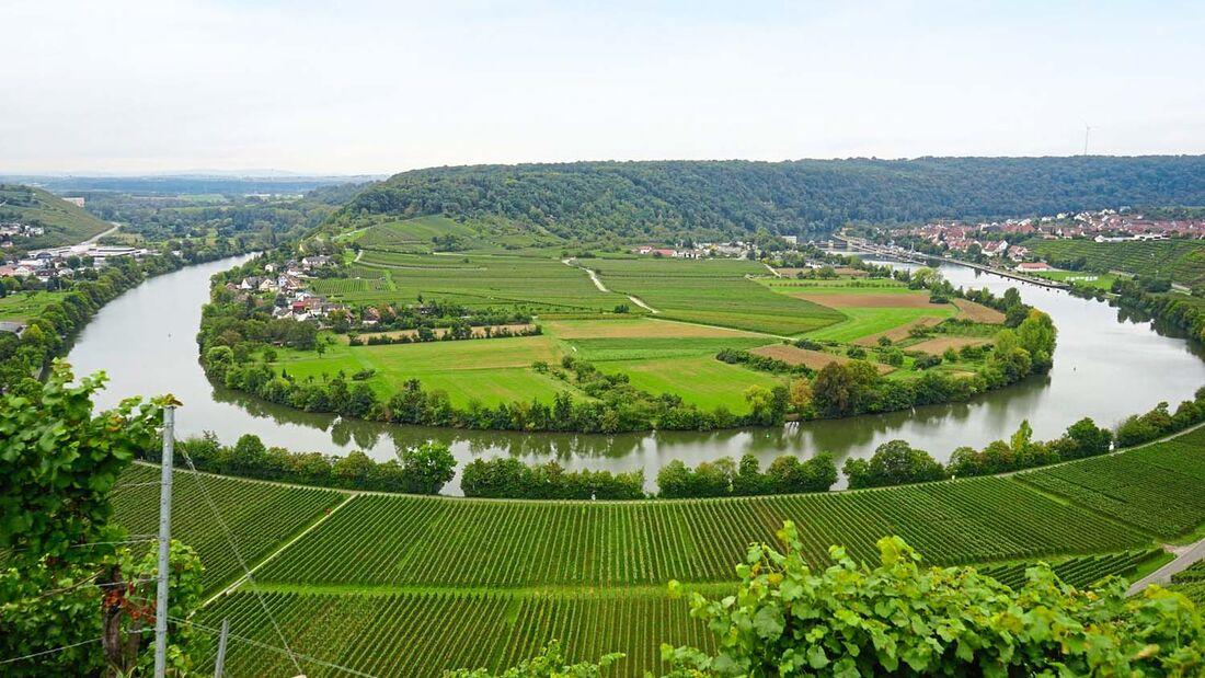 Das Neckartal ist für seine malerische Landschaft und Weine bekannt. Am 5.-7. Mai können Sie sich davon selbst überzeugen.