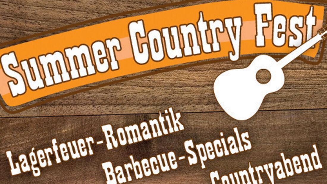 """Das  Wellness- und Ferienresort Vital Camping Bayerbach verwandelt sich am 4. und 5. Juli wieder in eine """"Westernstadt"""". Bei Lagerfeuerromantik und Live Country Music sind alle herzlich eingeladen."""